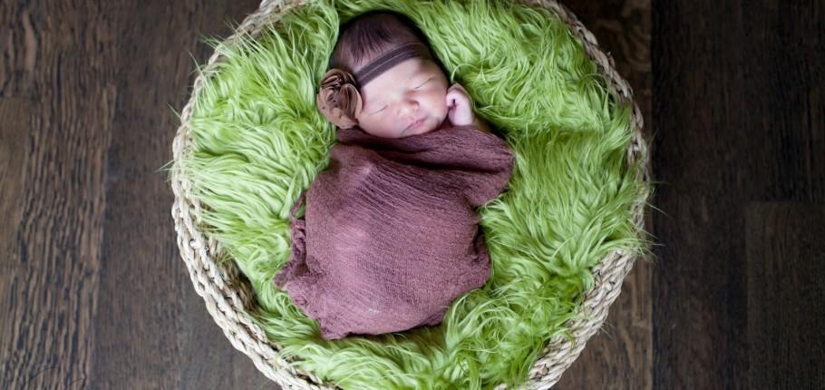 Newborn baby N