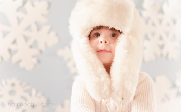 A snowy shoot