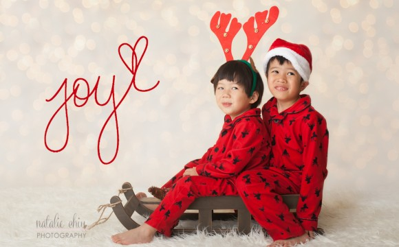 My New Year's Resolution and My Cuties' Holiday Session
