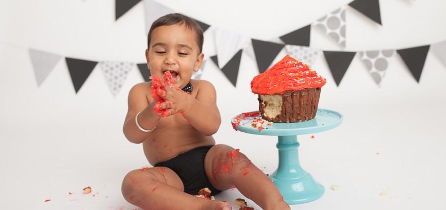 A very dandy cakesmash session – North York, Toronto Baby Photography