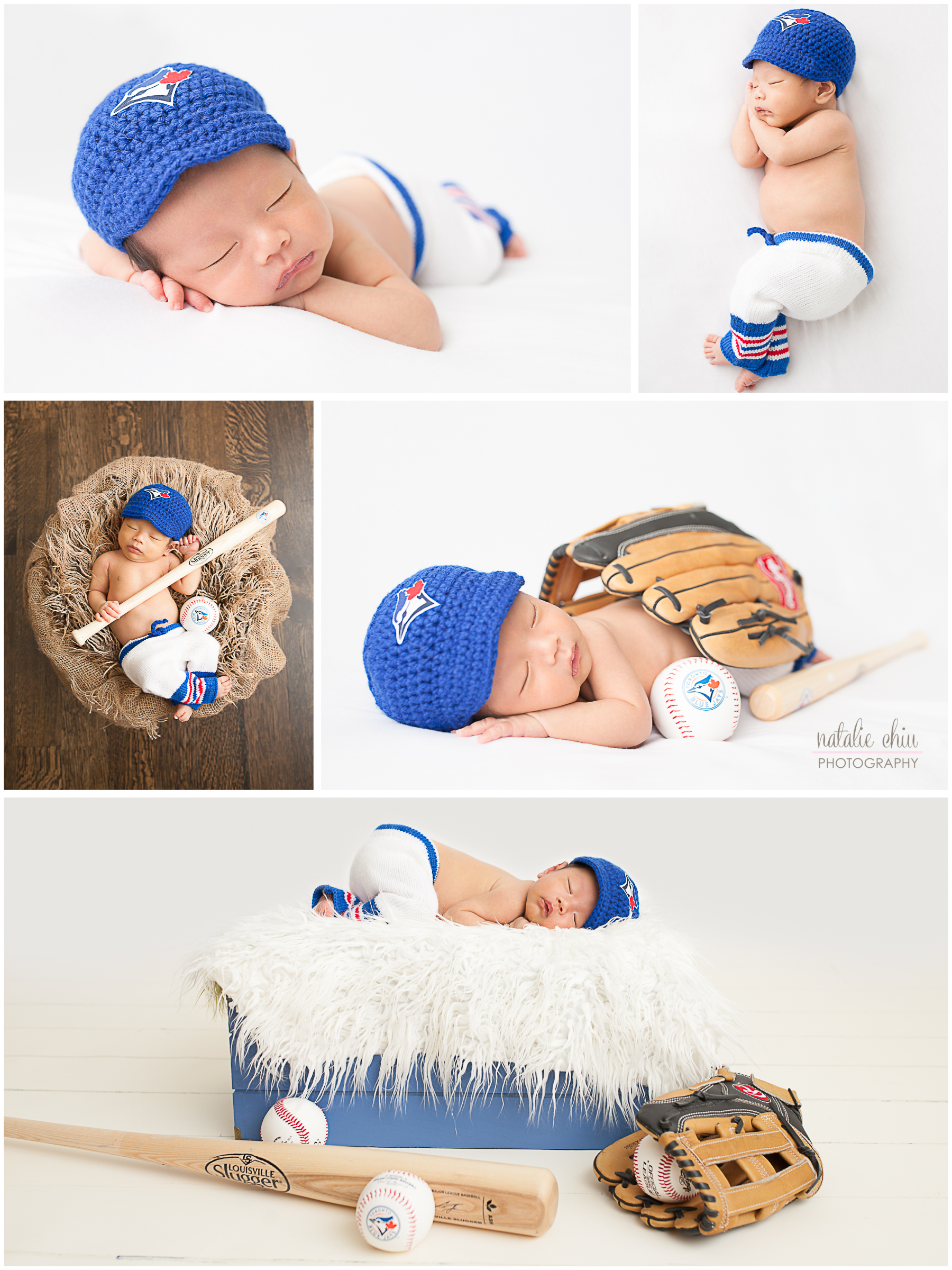 new product b1cca 17491 Natalie Chiu Photography Go Jays Go! A Newborn Toronto Blue ...